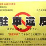 バイクで駐禁を切られた場合の対処法
