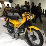 新型クロスカブ110の東京モーターショー2017レポート