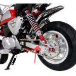 バイクのスイングアーム交換カスタム