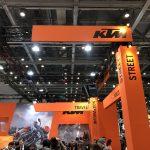KTMブースレポート|東京モーターサイクルショー2018