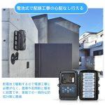 【バイクの盗難対策】配線工事不要で取り付け可能の防犯カメラ