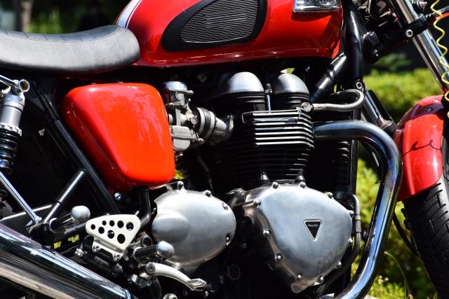 バイクの仕組み、構造